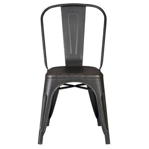 Armless+Stackable+Bistro+Side+Chair