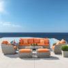 Alana Sunbrella 8-pc Orange