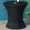 Clessidra Side Table Black