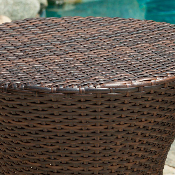 Clessidra Side Table Brown1