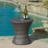 Clessidra Side Table Gray