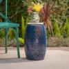 Ferro Accent Table Dark Blue