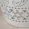 Ferro Accent Table White1