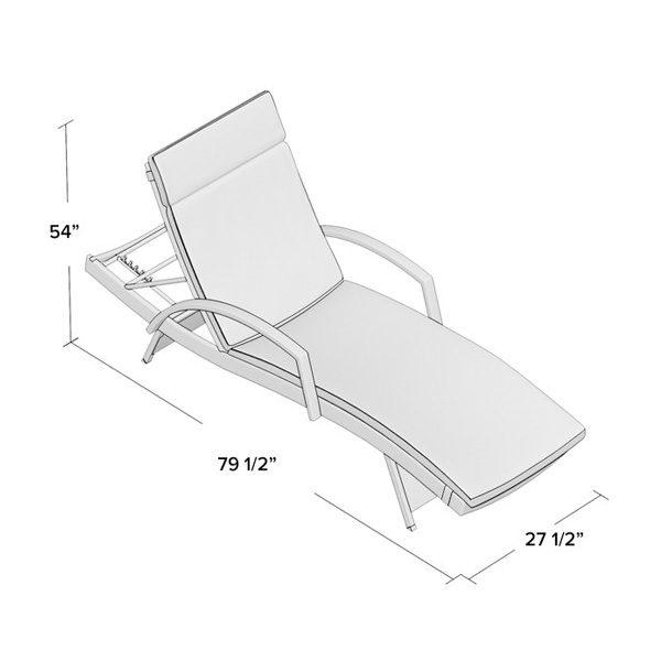 Kai Chaise Lounge Set 1