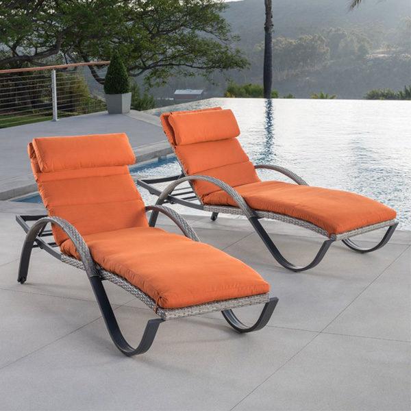 Sunbrella Loungers Tikka Orange