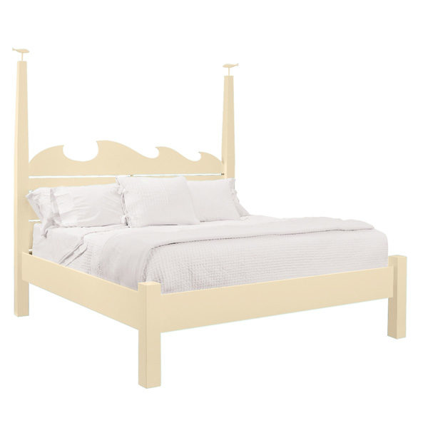 High Tide Bed Ivory