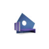 micro blue purple