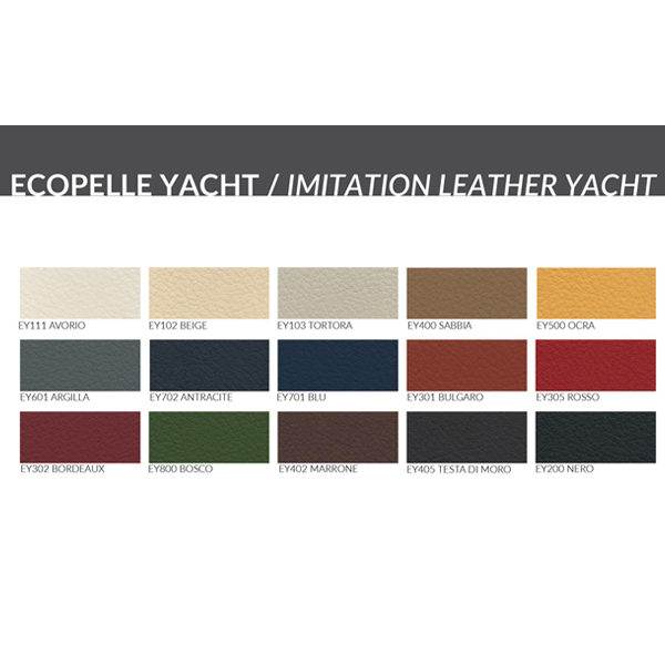 Yacht Leather Options (PVC)
