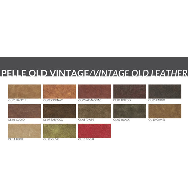 Vintage Leather Options